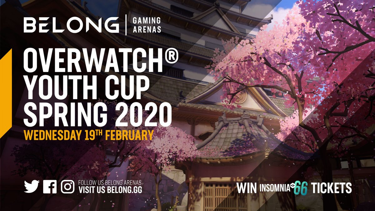 Don't get bored this half-term, get good! #Overwatch Youth Cup is TOMORROW!  13-16 year olds only!  DM to sign up!  #RiseUp  <br>http://pic.twitter.com/b40TmRZmgj
