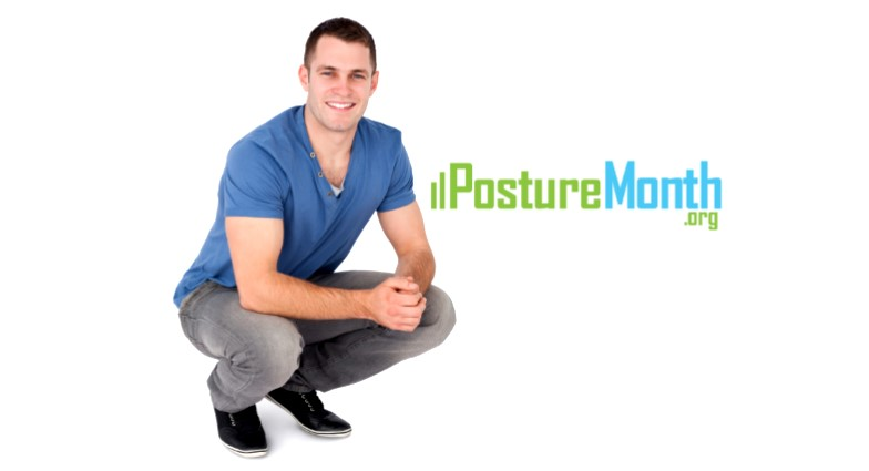 Tip 28 Proper Bending - Create good habits to avoid injury |  http://PostureMonth.org    http://PostureMonth.org   #workplace  #posture