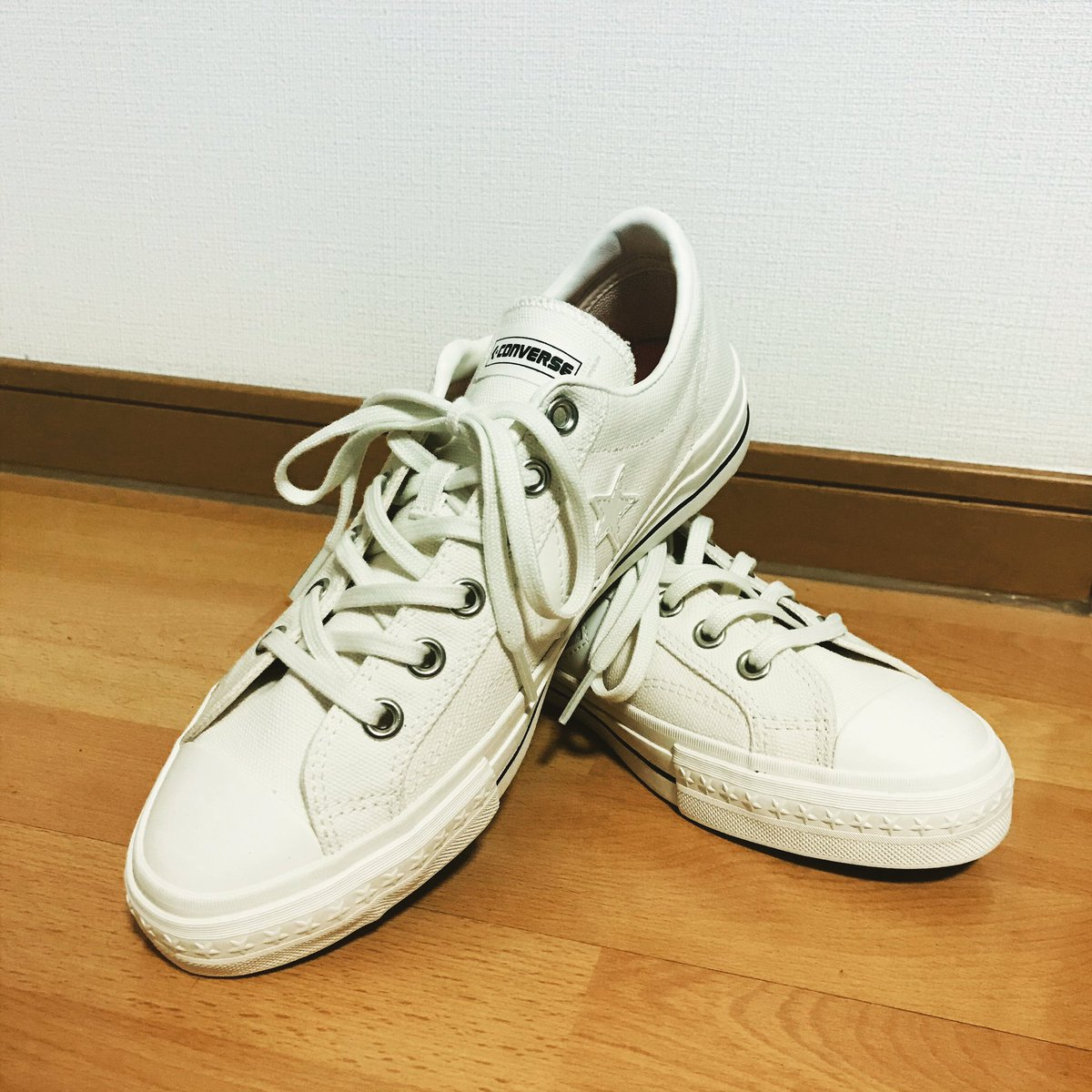 CONVERSE STAR COURT Ox Leather White 159802C Confort Herre