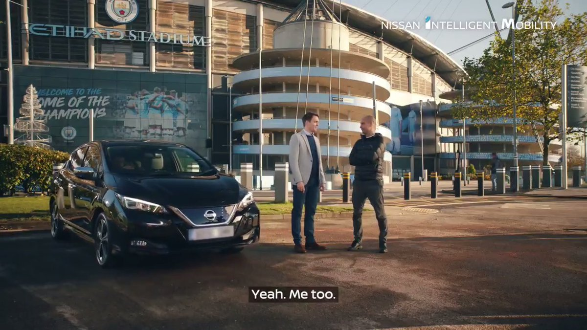 Pep loves his @Nissan LEAF because with ProPILOT, the car can park itself.  Not that @PepTeam parks himself anyway…  #PepLovesHisLEAF https://t.co/Vhupo0er6s
