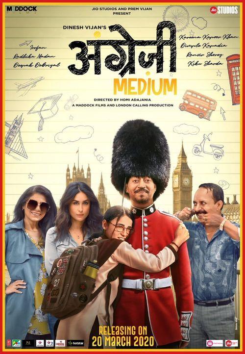 "What to tell about the trailer ! In one word just 'Fantastic'  The best dialogue I felt in the trailer was, ""aadmi ka sapna toot jata hai na to aadmi khatam ho jata hai"" It made me cry.. @irrfank @MaddockFilms @RanvirShorey @TripathiiPankaj @radhikamadan01 #angrejimedium pic.twitter.com/HKeOQ330ez"