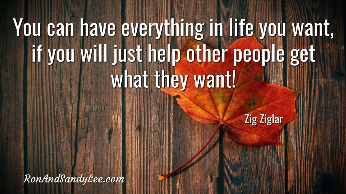 """You can have everything in life you want, if you will just help other people get what they want!"" - Zig Ziglar Win-win!  #womenwithambition #entrepreneurspirit #networkmarketingpropic.twitter.com/hNta0GcKcz"