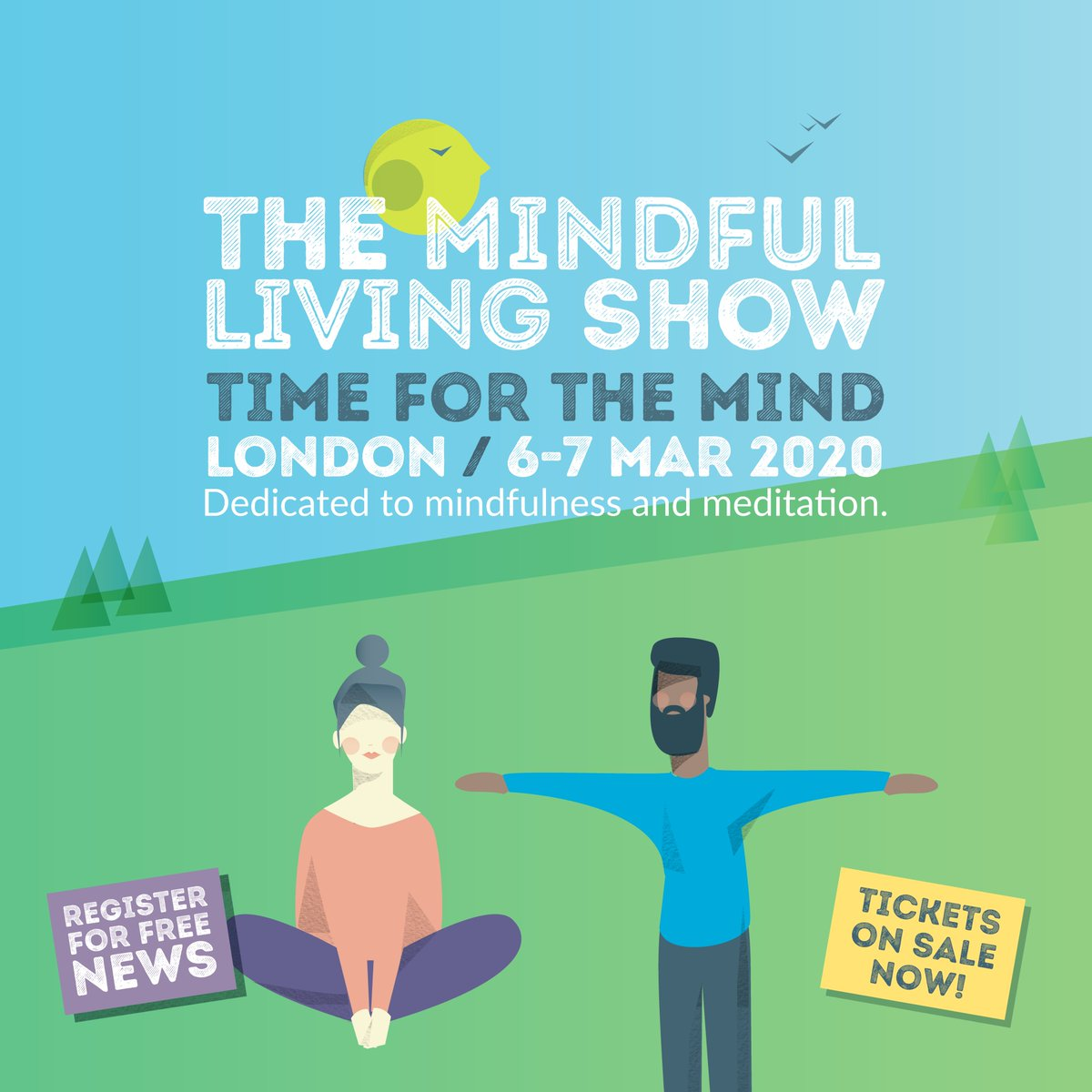 Life is happier when we make time for our mind 🧘 Join us at the wonderful @Mindful_Show to find out how and get 10% discount with code MLSS2108 mindfullivingshow.com #TimeForTheMind