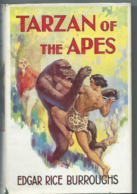 Though trying to be supportive, Jane had decided some time ago that if you'd seen one #Tarzan-vs.-gorilla fight, you'd pretty much seen them all.pic.twitter.com/v61ZJyHtF1