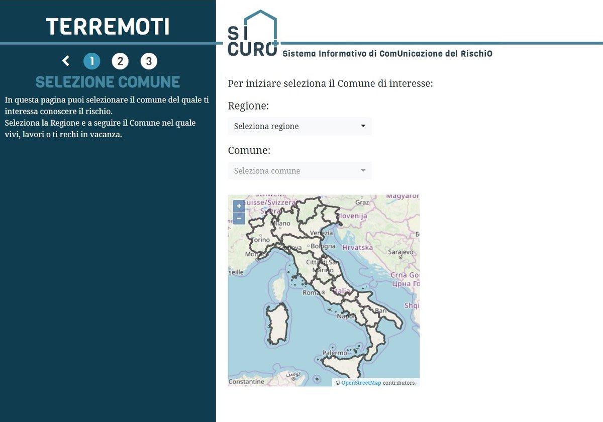 Visualizza le mappe più aggiornate sul rischio sismico con Sicuro➕La nuova piattaforma web fornisce, per ogni comune italiano, una valutazione delle conseguenze dei possibili terremoti futuri su edifici e popolazione residente👉http://www.sicuropiu.it http://bit.ly/SicuroNews