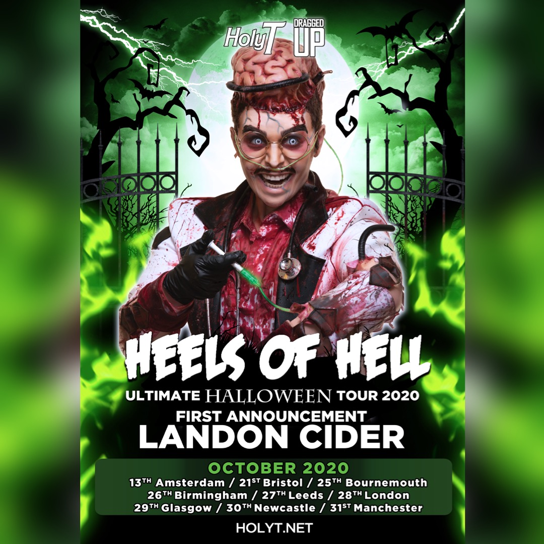 Come join @LANDONCIDER this October on Heels of Hell (Full Lineup Coming Soon)  13/10: Amsterdam   21/10: Bristol   25/10: Bournemouth   26/10: Birmingham   27/10: Leeds   28/10: London   29/10: Glasgow   30/10: Newcastle   31/10: Manchester  <br>http://pic.twitter.com/9cXKich9lb