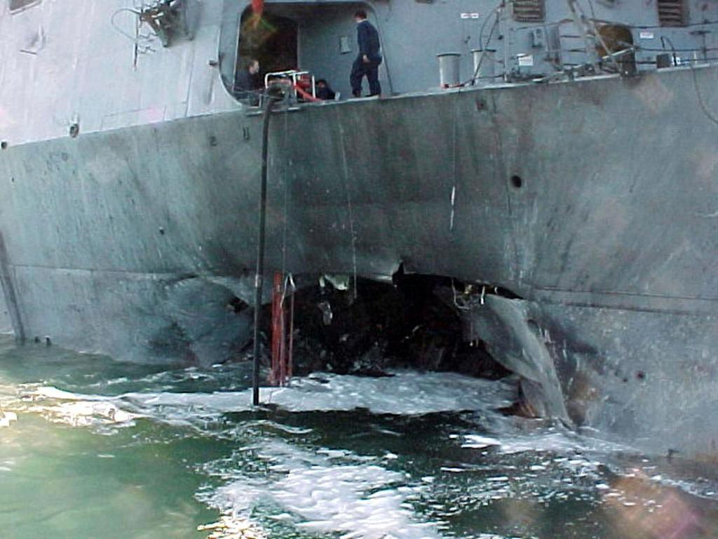 @Reuters's photo on USS Cole