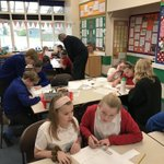 Image for the Tweet beginning: Year 6 are working with