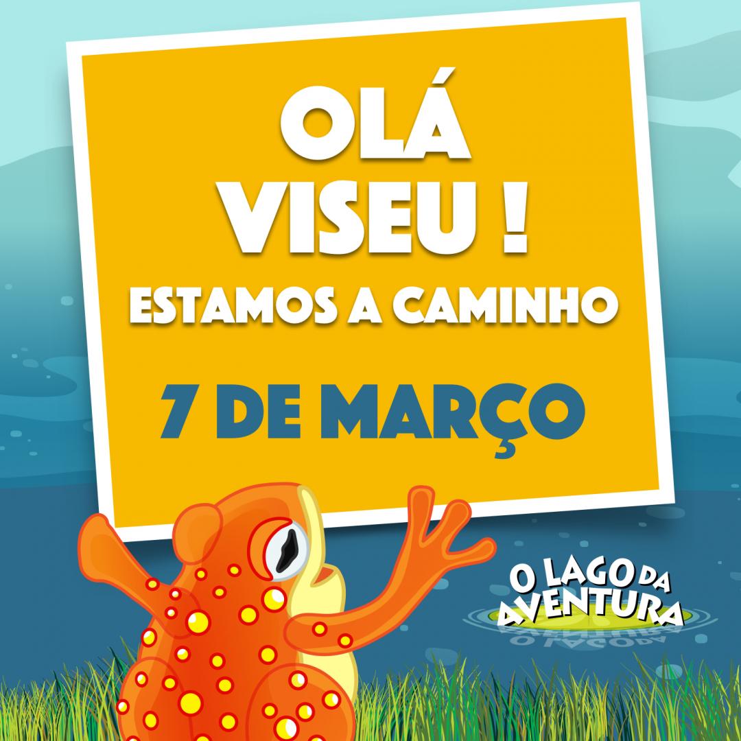 Estamos a chegar a Viseu! Marque a data: 7 de março, às 16:00, no Auditório Mirita Casimiro. Os bilhetes já estão à venda em https://t.co/uF0JzUwaVd e nos locais habituais! https://t.co/i69rlnHq1C