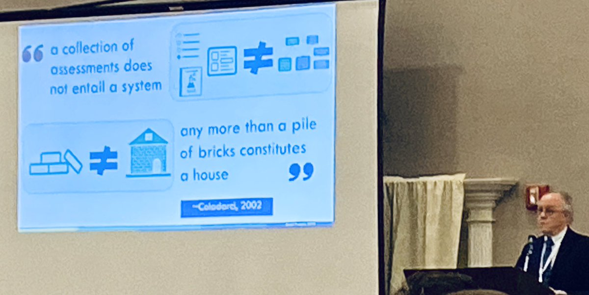 Do you have an assessment system or a pile of bricks? #mstc