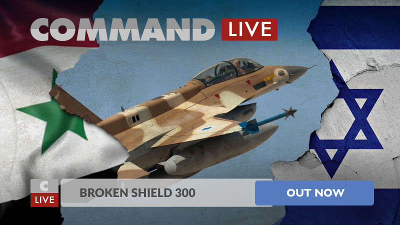 Command Live. Broken Shield 300 ya a la venta