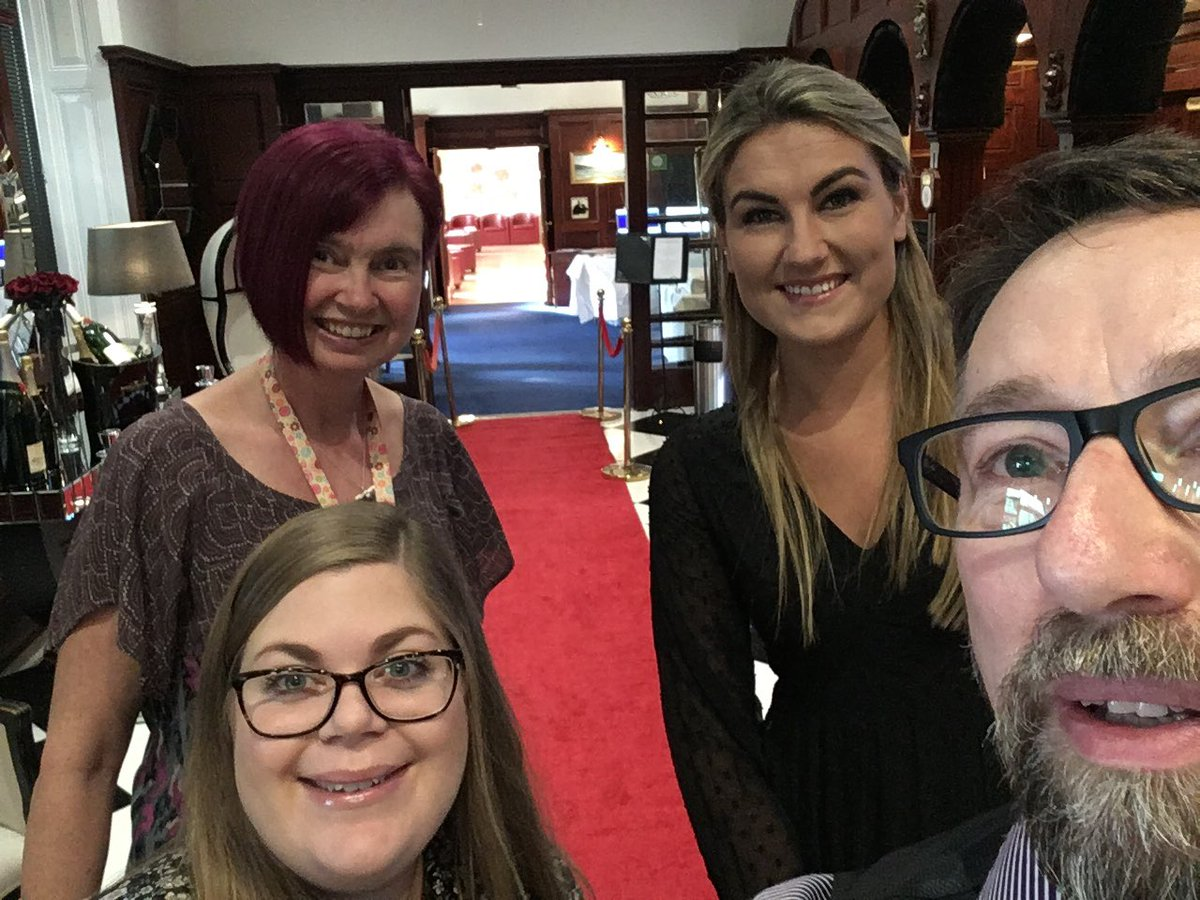 Marketing & Events Team @ATI_Cornwall, the red carpet is out @AtlanticHotel_ to welcome our guests at our #Innovation Celebration Event.pic.twitter.com/7XkmrsEMSQ – at Atlantic Hotel
