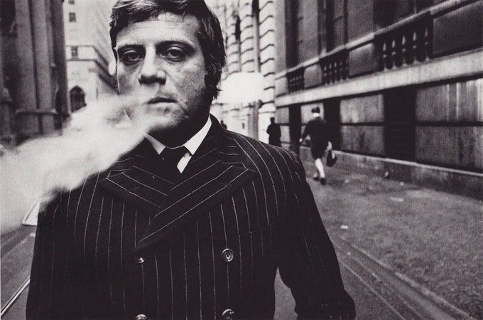 Happy birthday, Oliver Reed! Hey, Ollie, do you smoke after sex? Dunno, luv, I ve never checked.