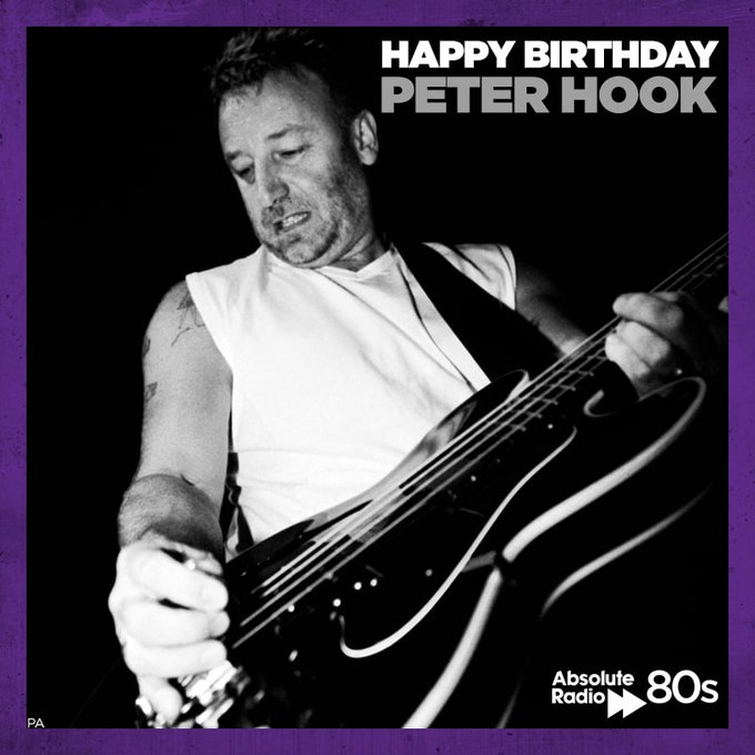 Happy Birthday to Joy Division and New Order legend, Peter Hook! What\s his best bassline of all time?