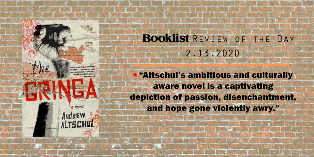 #ReviewoftheDay | THE GRINGA by @afaltschul | @melvillehouse | bit.ly/2ULeacr