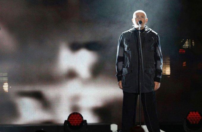 Singer Peter Gabriel turns 70. Happy Birthday!!