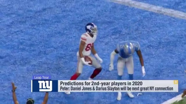 Are Giants' Daniel Jones, Darius Slayton the next great QB-WR duo?