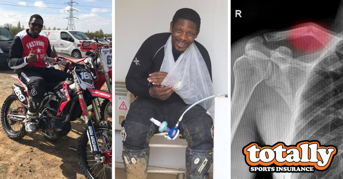 Every Monday we hear from people who have witnessed injuries over the weekend & want to get cover as a result  We provide peace of mind as well as a lump sum & ongoing income protection in the event of injury. Get a free quote today https://bit.ly/2BQ7qiM  #motocross #MTBpic.twitter.com/KGnfhYzqdQ