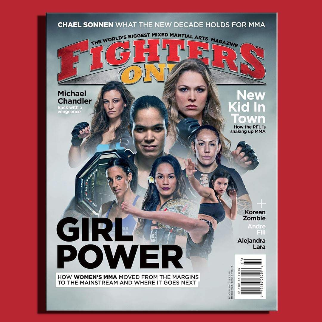 The March issue of @FightersOnly is on newsstands worldwide today!  Check out my interviews in this issue  Toe to Toe w/ @KoreanZombieMMA  5-Minute Round w/ @TouchyFili  Five Fights of My Life w/ @JoshLBarnett   MMA Clinic w/ @alejazulara   Final Bell w/ @SpartanKoresh