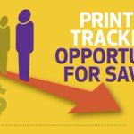 Image for the Tweet beginning: Are you tracking your #print