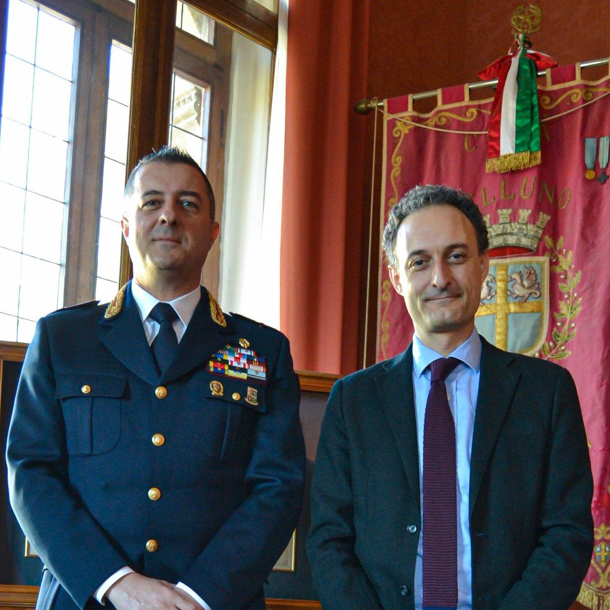 Il Sindaco incontra il nuovo comandante della #Pol...
