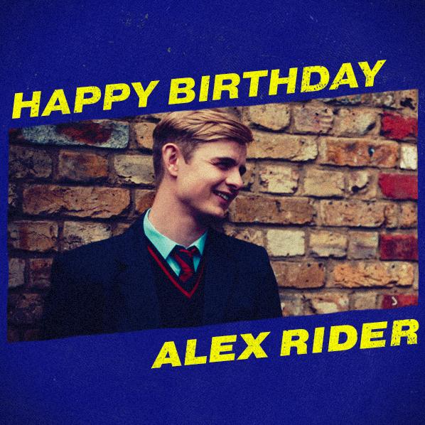 Happy birthday to #AlexRider! #AlexRiderTV