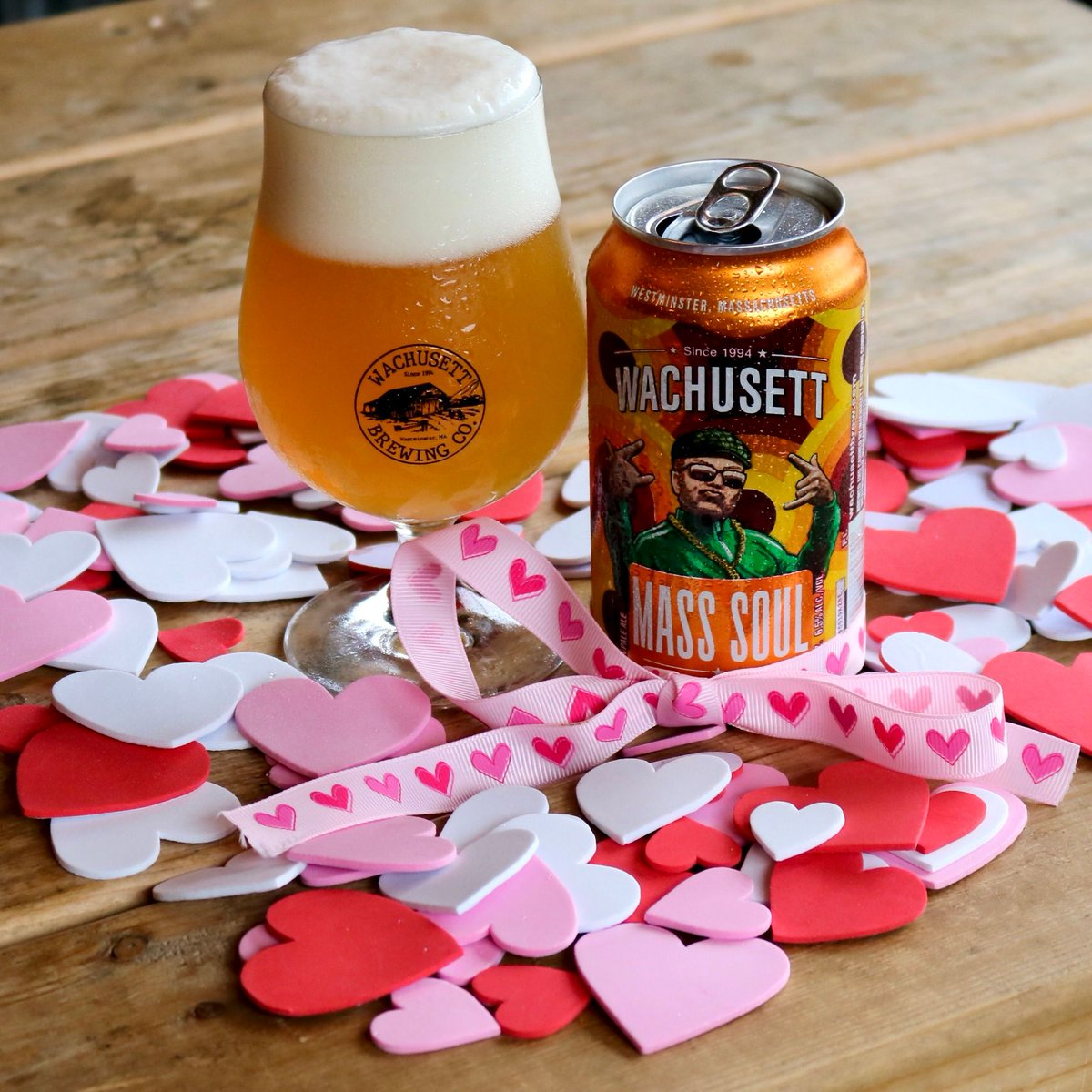 Did you know Mass Soul has a romantic side to it? This tropical IPA is filled with heart and soul making it easy to say those three little words… I'll have another!