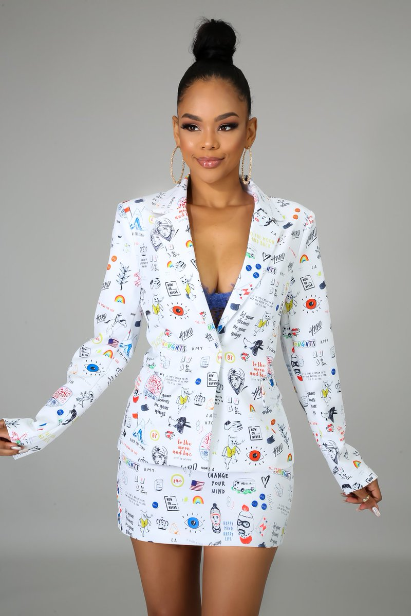 Get your 'Too Cool For You Blazer Set' at the all new http://GitiOnline.com  Link to Shop:  https://bit.ly/37ogjgP  #style #sexy #fashion #ootd #new #onlineshopping #boutique #maxidress #valentineslook #skirtset #set #whiteoutfit #colorfuloutfit #blackgirlmagicpic.twitter.com/v4xPT8KKil