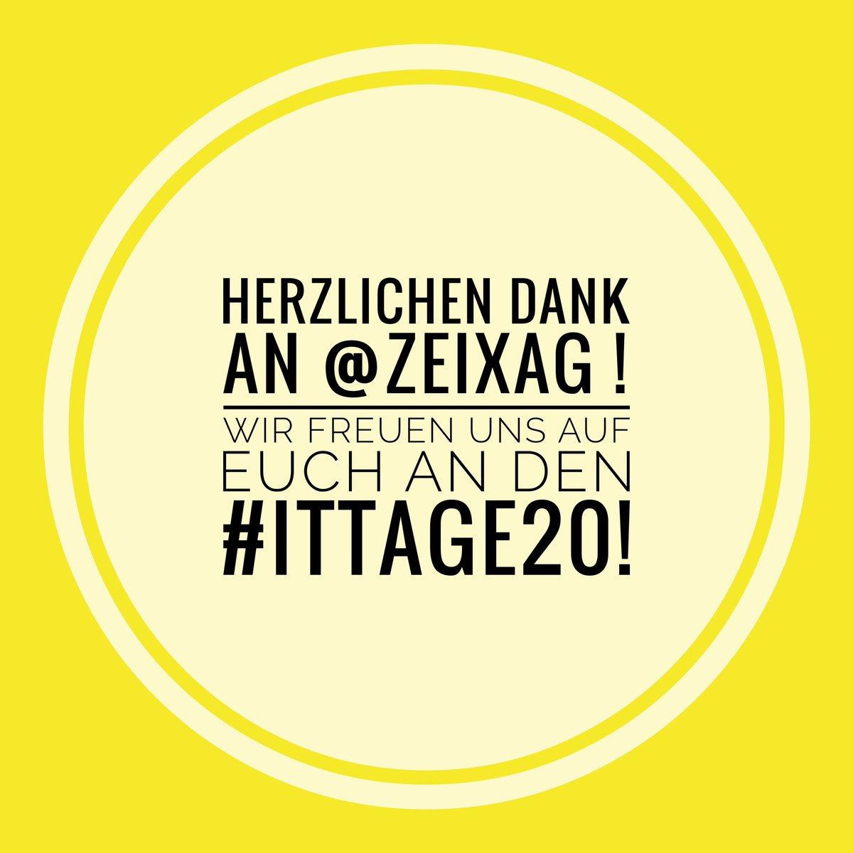 Wir freuen uns auf @zeix an den #ITTage20 pic.twitter.com/mpWA9g0w16