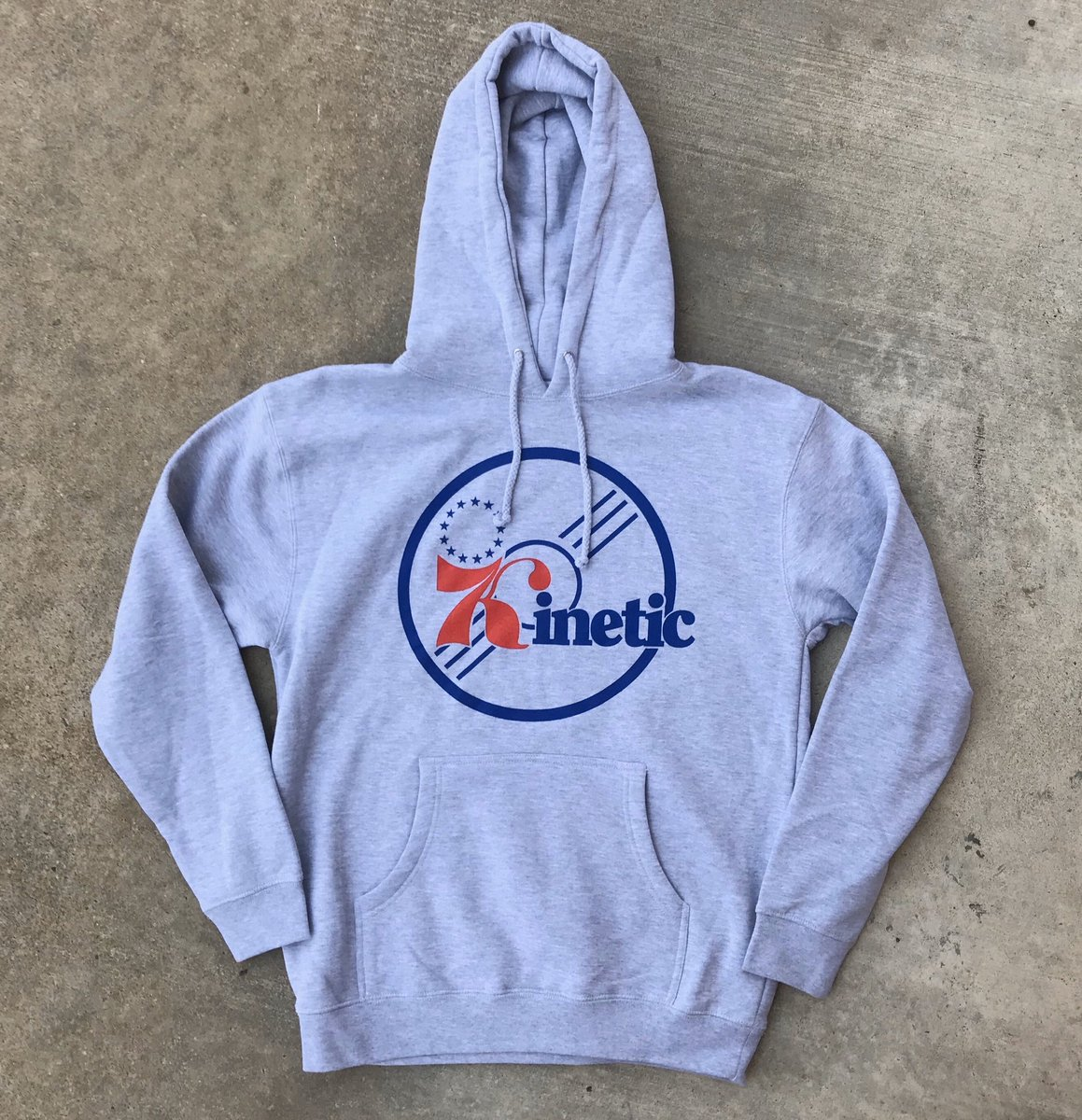 Tomorrow at midnight our 87 Hoodie for the first time in Athletic Grey kineticskateboarding.com