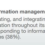 Image for the Tweet beginning: Three biggest #InformationManagement challenges -