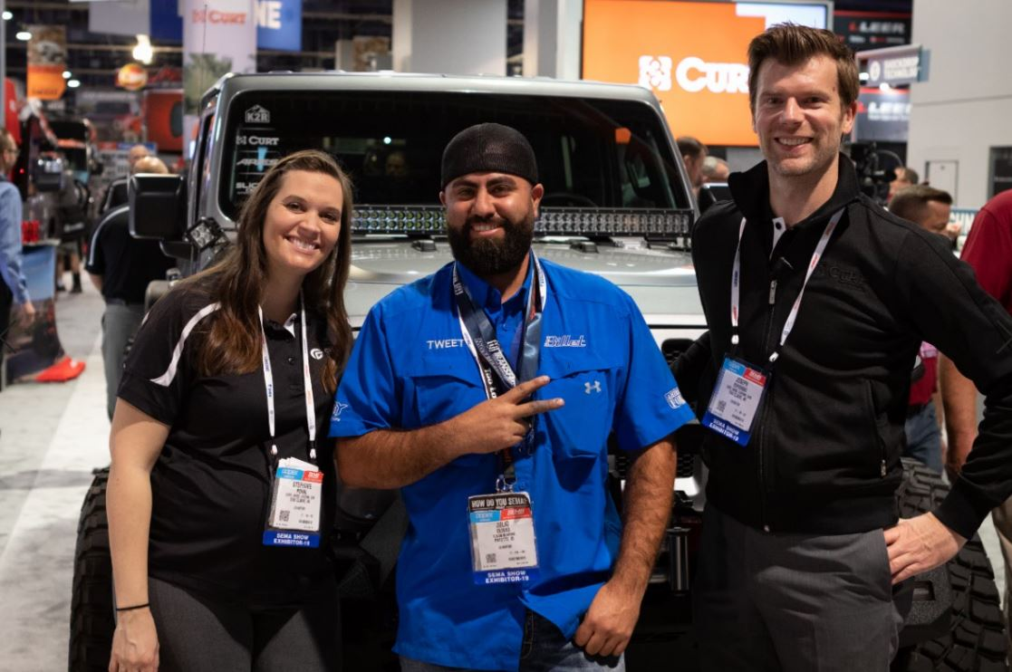 #TBT to when Tweety of Tweety's Tire & Welding won a 2019 Jeep JL in our SEMA booth. It was a pretty exciting day. The best part?! He gifted it to his sister!   #SEMA2019 #Tweetystire #jeepgiveaway #jeepjl<br>http://pic.twitter.com/mKDFRhUKUz
