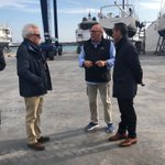 Image for the Tweet beginning: Visita al @PortPremia i al