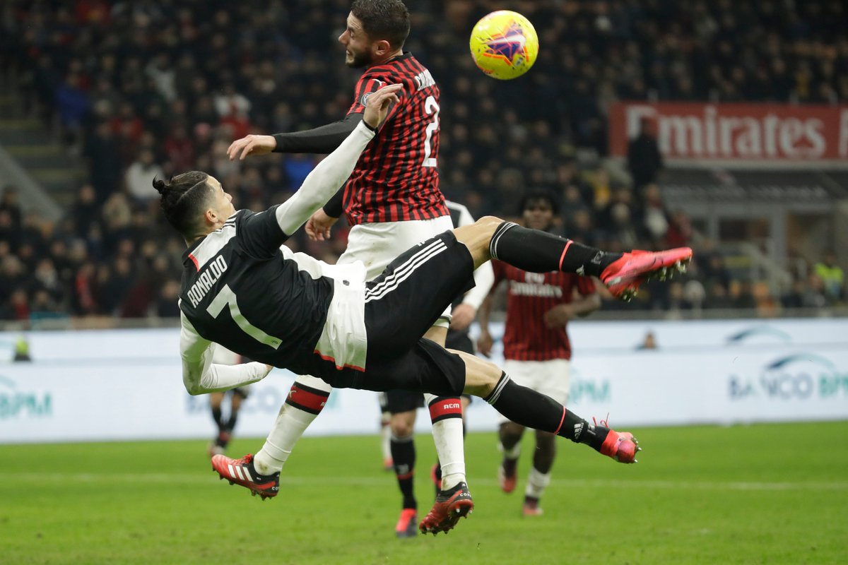 AC Milan vs Juventus Highlights, 14/02/2020