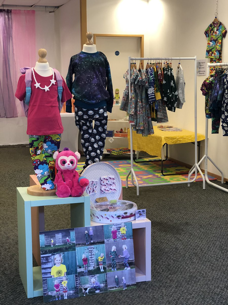 Gorgeous organic clothes from me  and beautiful toys and gifts from Happy Cat Kids! Open until 23 March in #letchworthgardencity  #loveletchworth