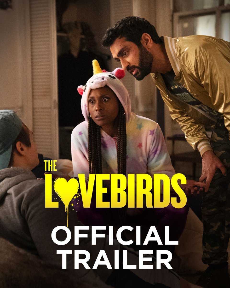 Every happy couple has one moment that defines their relationship. Sometimes it's bacon grease to the face. Watch the official trailer for #TheLovebirds starring @IssaRae and @KumailN – In theatres April 3. https://t.co/kIQQK14aOx