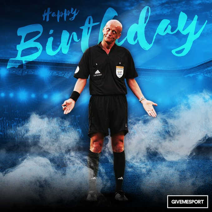 The referee every football fan respected Happy birthday to the boss that is Pierluigi Collina