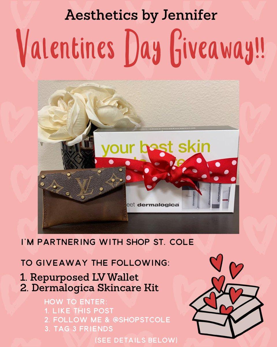Get over to my Instagram for this giveaway! #aestheticsbyjennifer #giveaway #dermalogica #shopstcole #bemine #valentines #love #selfcare #youdeserveitpic.twitter.com/gguZRrzrqm