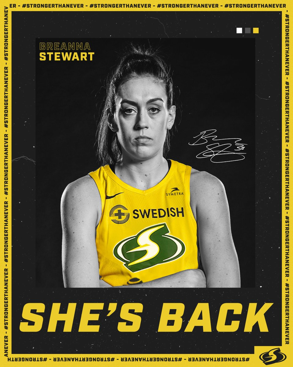 🚨 𝐎𝐅𝐅𝐈𝐂𝐈𝐀𝐋 🚨  💪💪She's Back!! 💪💪  @breannastewart  Read More ⬇️ http://bit.ly/StewieReturns   #StrongerThanEver