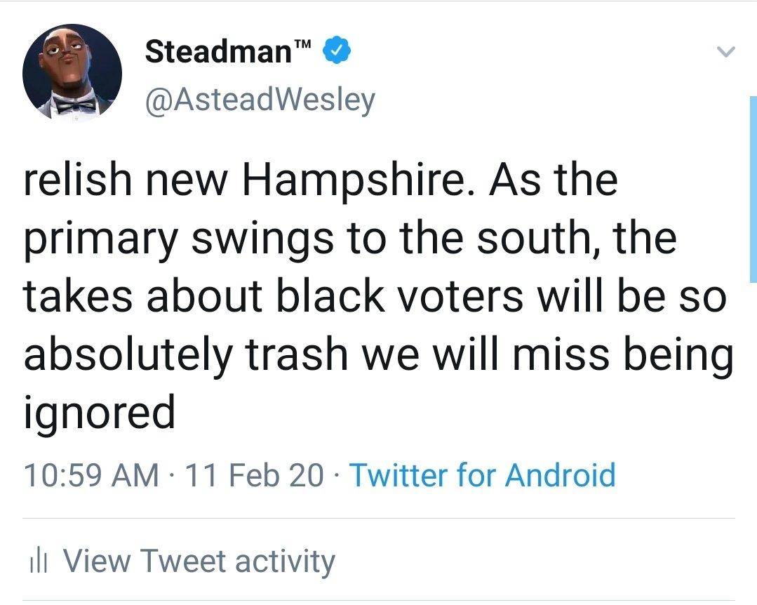 Steadman™ (@AsteadWesley) on Twitter photo 13/02/2020 17:57:13