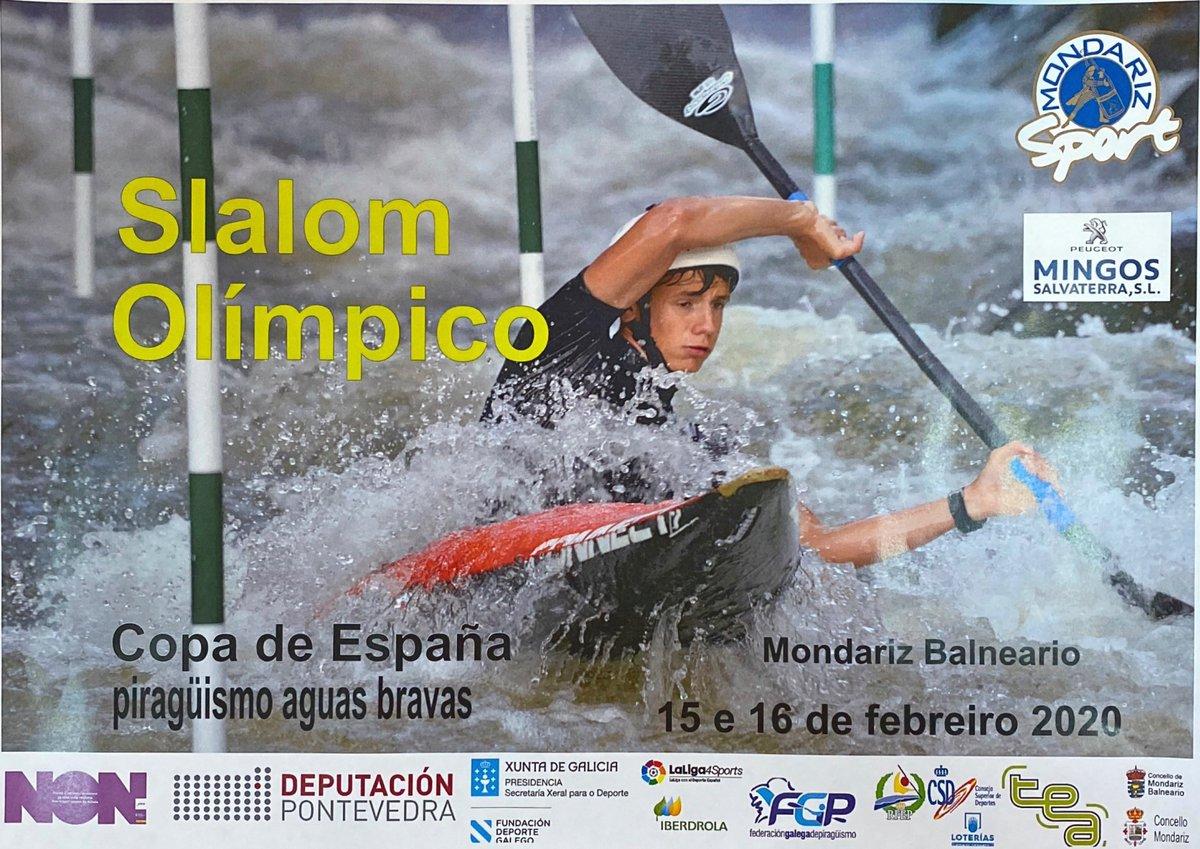 #MondarizBalneario 🎙️Este fin de semana tendrá lugar la 1ª Copa de España de Slalom Olímpico en Mondariz Balneario.  🗓️El día 15 de Febrero desde las 8:30 am y el día 16 a partir de las 9:00 am.  Mañana entrevistaremos al presidente del club de piragüismo TEA.