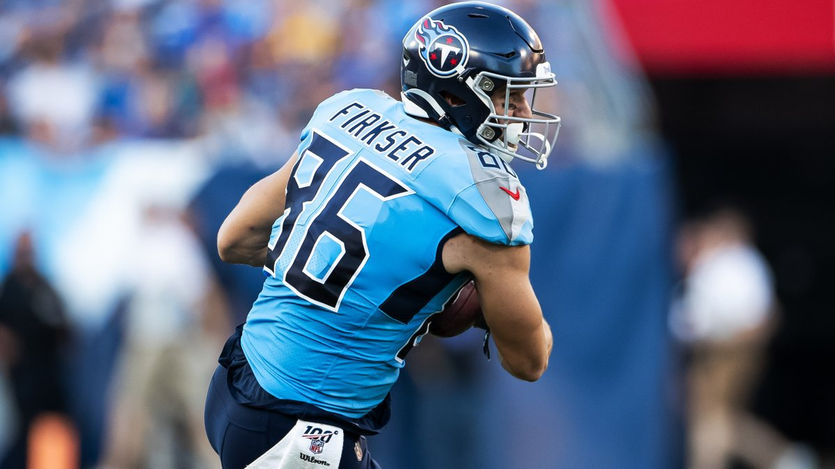 .@Titans agree to one-year contract extension with TE Anthony Firkser. READ bit.ly/2HhRjgH
