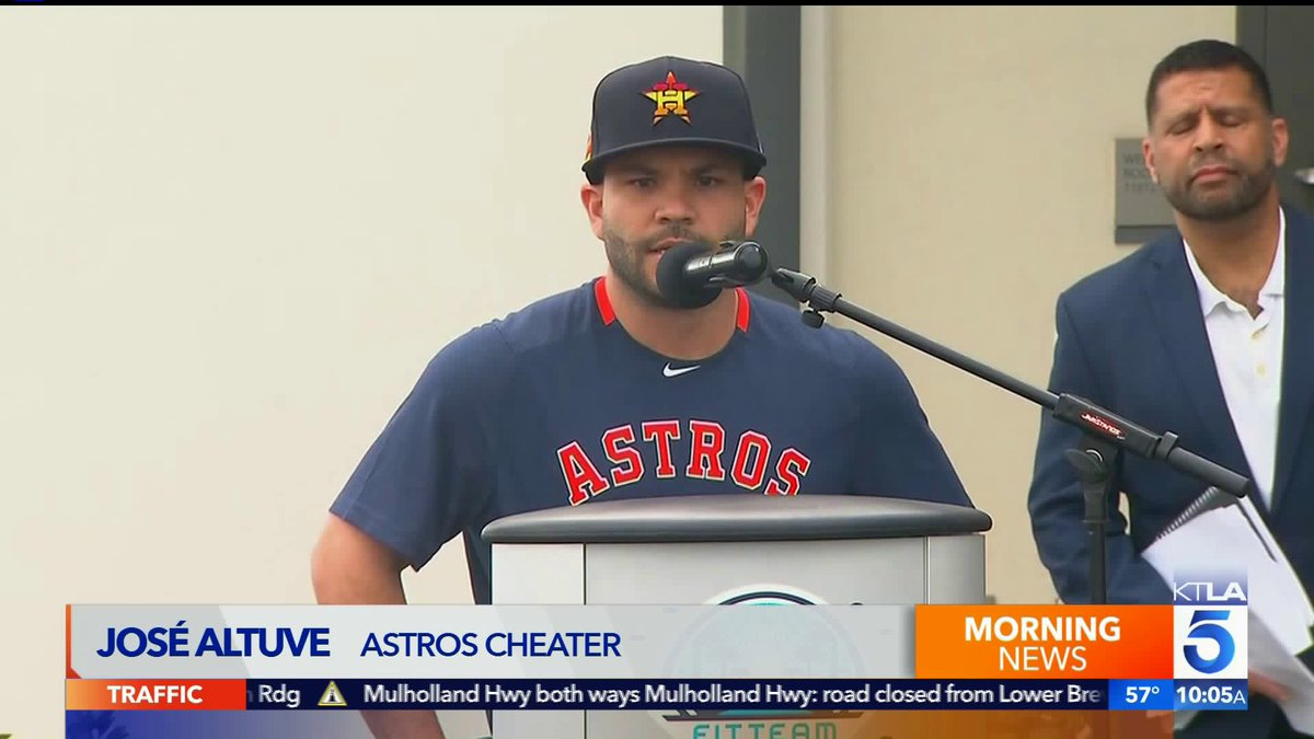 'Astros cheater' 😂