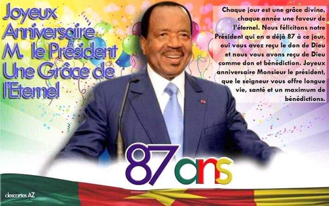 HAPPY BIRTHDAY Mr. Président.