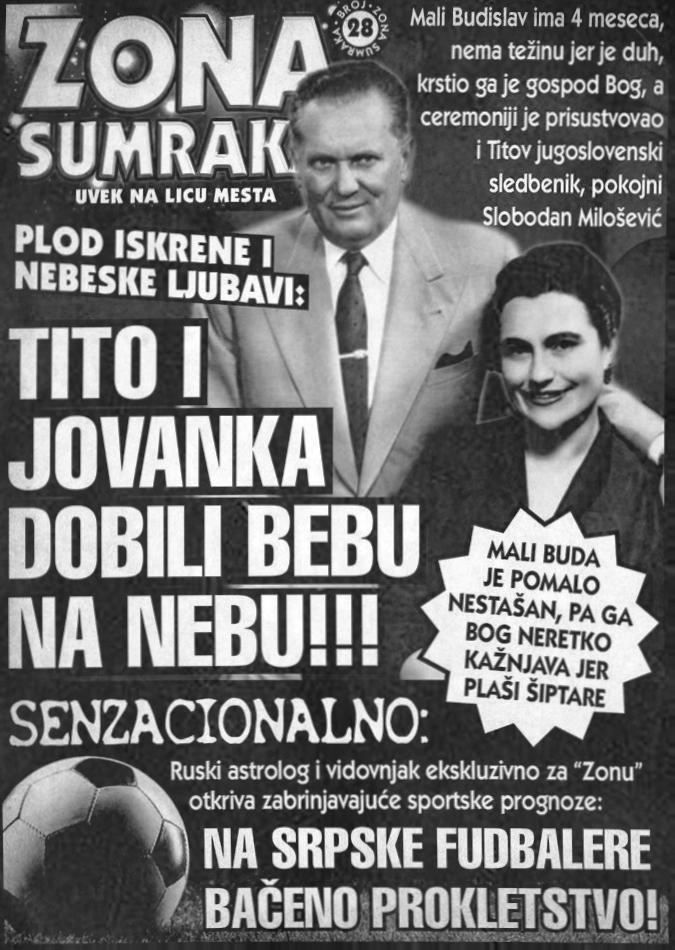 Tito i Jovanka dobili bebu na nebu!