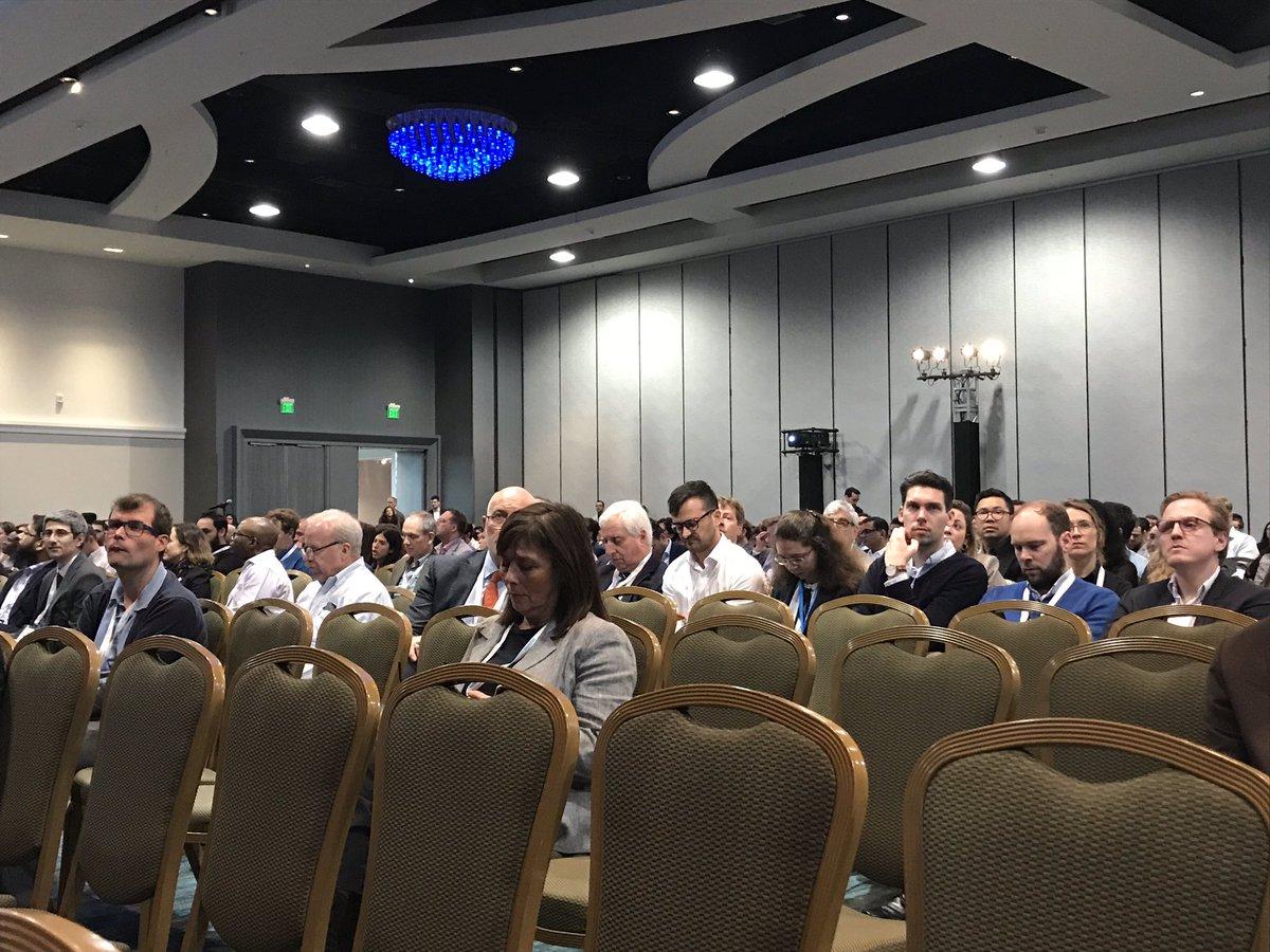 #SCMR2020 opening plenary. Dr Powell addressing @SCMRorg member. Let the magic begin!