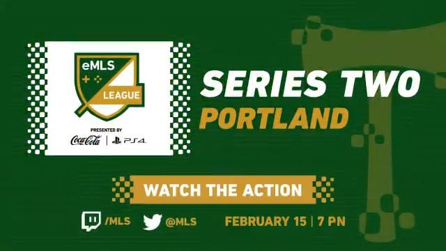 The @eMLS League Series Two champion will be decided today 🏆!  Watch all the action live 🔴 from Portland ➡️ http://www.twitch.tv/MLS   #FGS20 | #eMLS