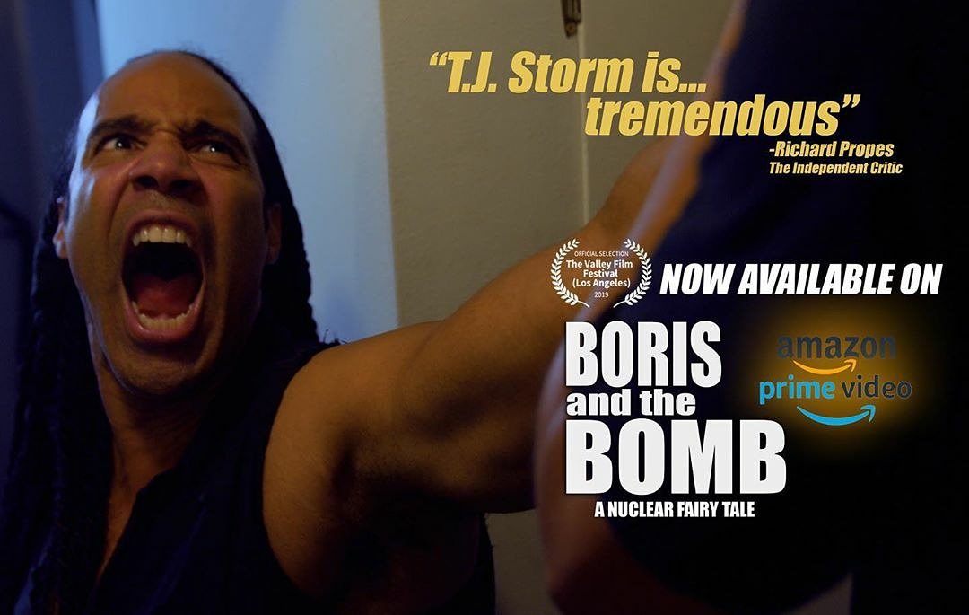 """Some nice words from a critic about fun film @borisandthebomb. See Boris and the Bomb on Prime and please rate! Thank you: Independent Critic: """"TJ Storm is tremendous!""""  #borisandthebomb @indierightsmovies #supportindiefilm #culthit #cultmovie #boom #review #reviews #indiefilmpic.twitter.com/0YBpCLnH8V"""