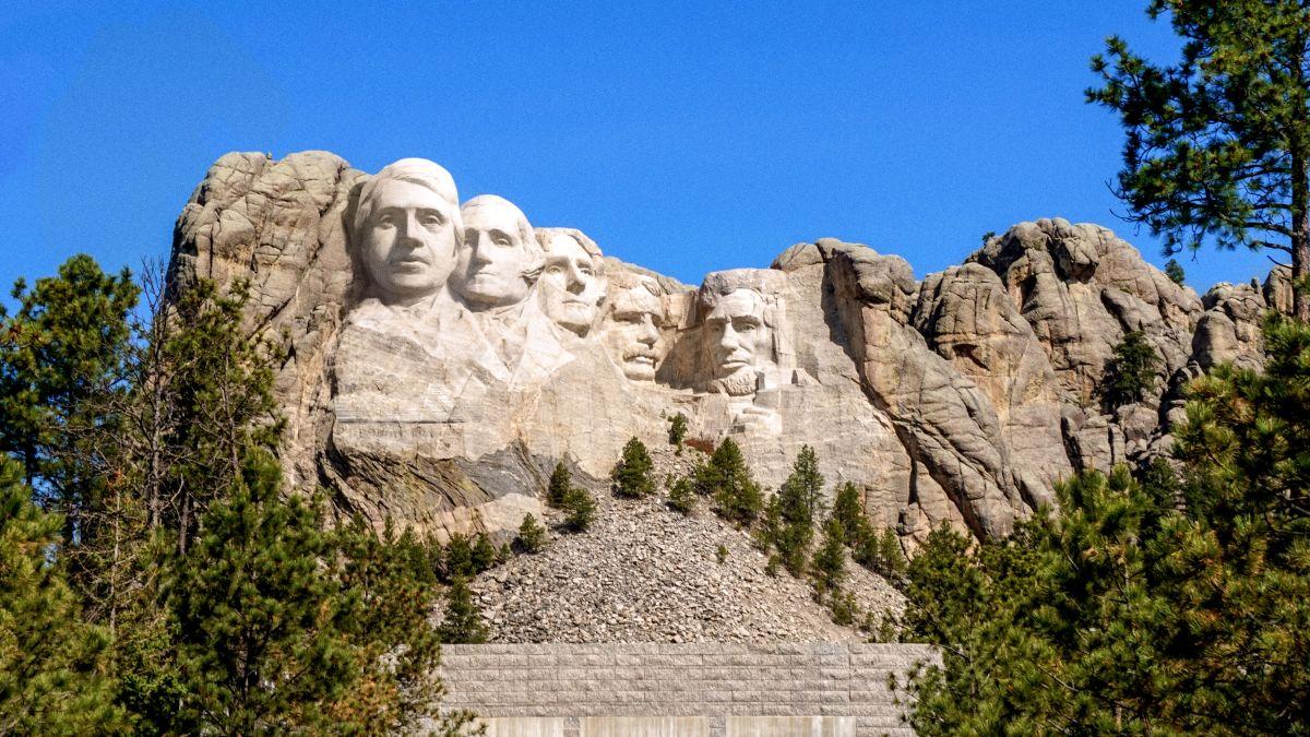 Donald Trump Mount Rushmore 3D Printed Large