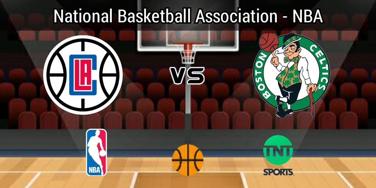 #NBA  #ClipperNation vs #Celtics ⏰ 20:00 hrs ET 📺 @NBAonTNT with:  🎙 @MarvAlbertTNT  🎙 #KevinMcHale 🎙 @ALaForce https://t.co/b6zsYYDMXJ